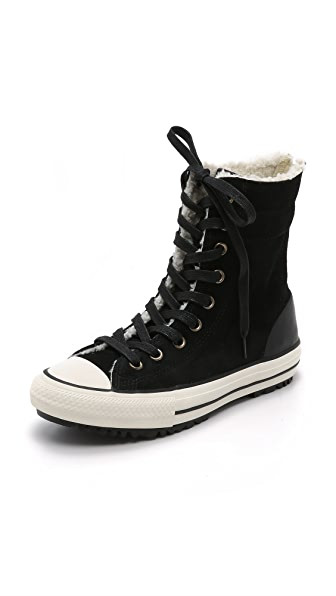 Converse Chuck Taylor All Star High Rise Sneakers with Sherpa Lining