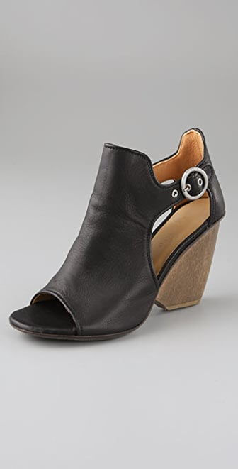 Coclico Shoes Nymph Cutout Booties with Open Toe