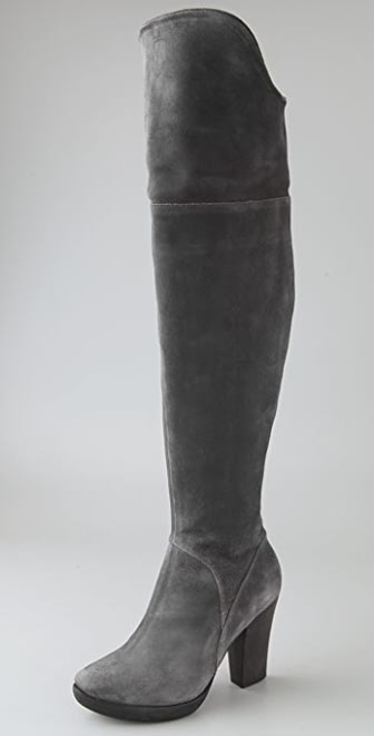 Coclico Shoes Veda Suede Over the Knee Boots