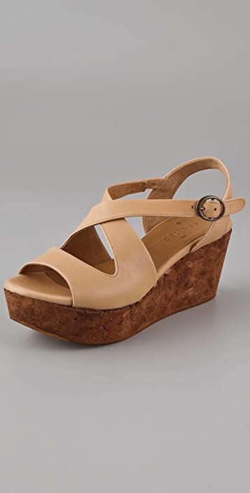 Coclico Shoes Morphos Wishbone Platform Sandals