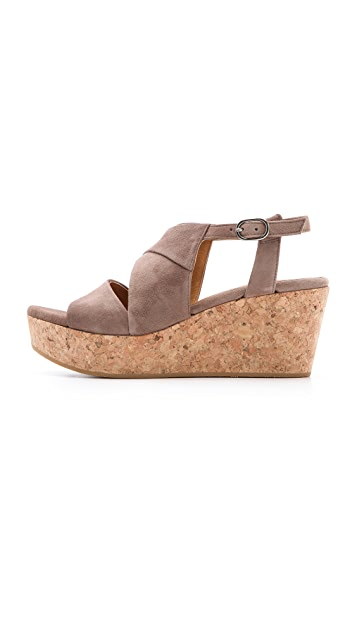 Coclico Shoes Melania Cork Platform Sandals