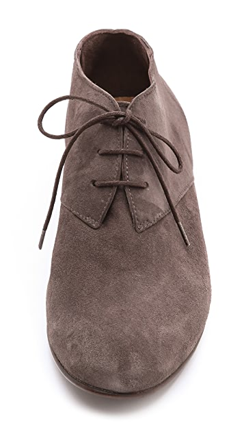 Coclico Shoes Irene Lace up Low Booties
