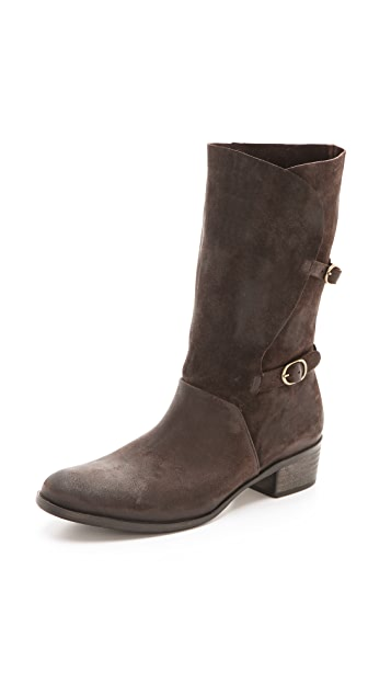 Coclico Shoes Ugo Slouchy Low Heel Boots