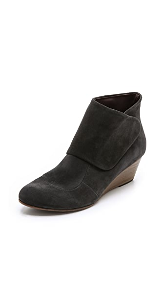 Coclico Shoes Kiera Suede Wedge Booties