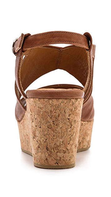 Coclico Shoes Melania Wedge Sandals