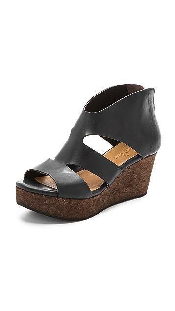 Coclico Shoes Megumi Cork Wedge Sandals