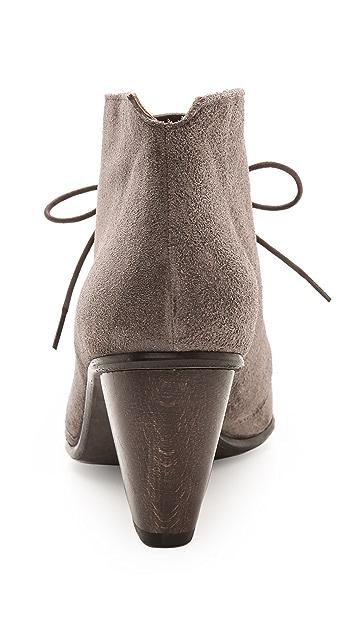 Coclico Shoes Danette Suede Lace Up Booties