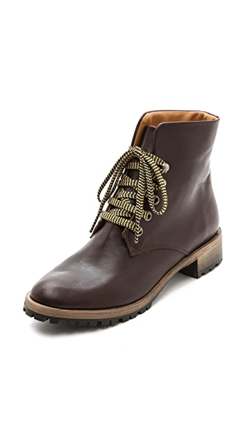 Coclico Shoes Olivier Lace Up Booties