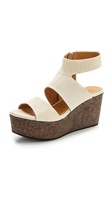 Coclico Shoes Max Wedge Sandals
