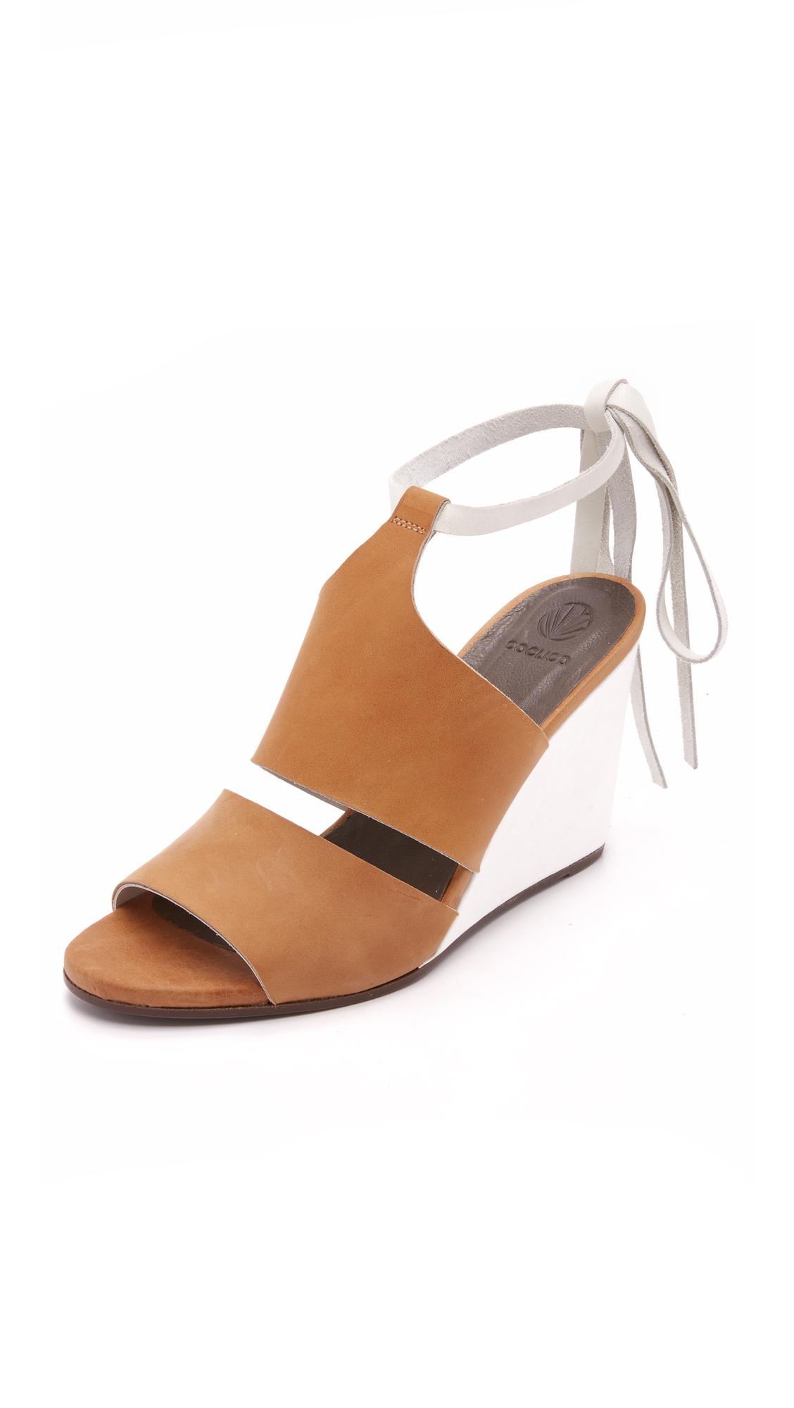 Coclico Shoes Jewel Wedges - Sahara at Shopbop