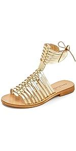 Ibiza Gladiator Sandals                Cocobelle