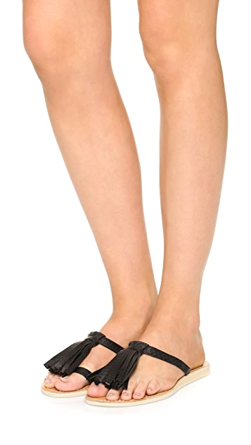 Cocobelle Fringe Sandals