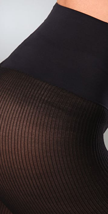 Commando Richly Ribbed Opaque Tights