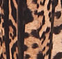 Pleated Leopard Brown