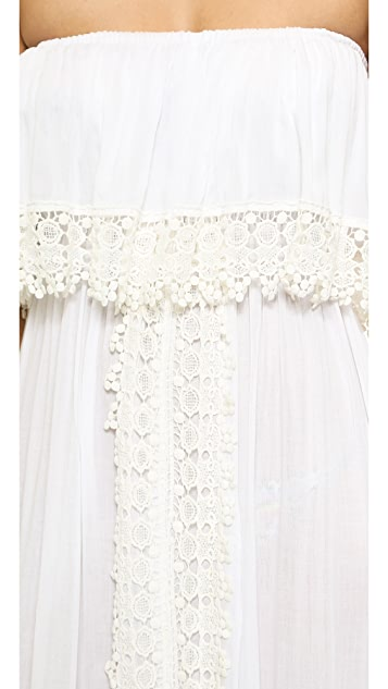 coolchange Grace Ruffle Front Dress