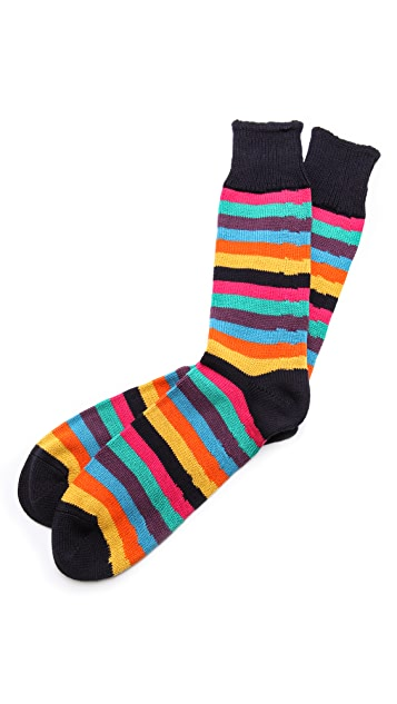 Corgi William Stripe Heavy Gauge Socks