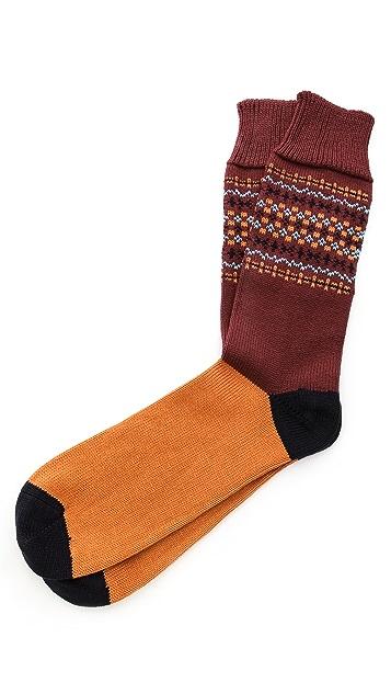 Corgi Fair Isle Heavy Socks