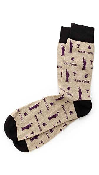 Corgi New York Socks