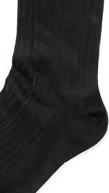 Corgi Solid Rib Socks