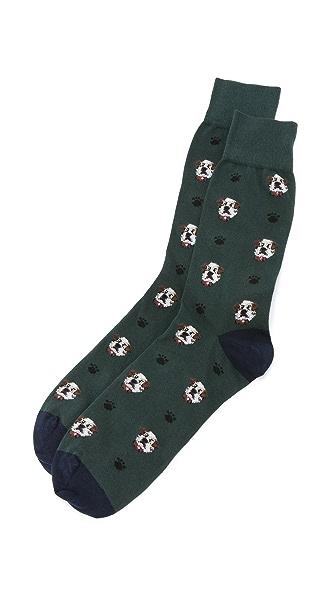 Corgi St. Bernard Socks