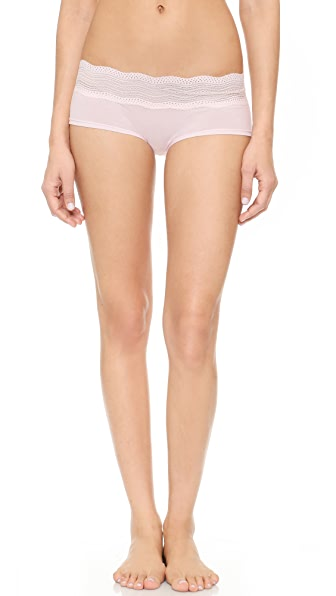 Cosabella Dolce Boy Shorts - Ice Pink