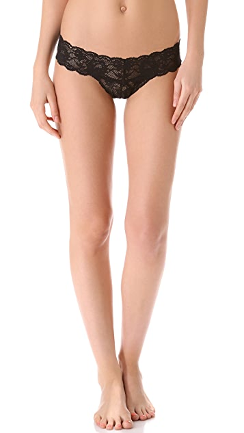 Cosabella Never Say Never Cutie Low Rise Thong 3 Pack