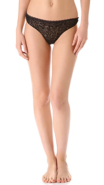 Cosabella Devore Low Rise Thong