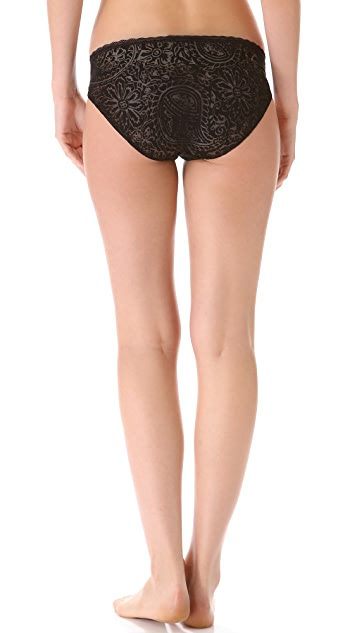 Cosabella Devore Low Rise Bikini Briefs