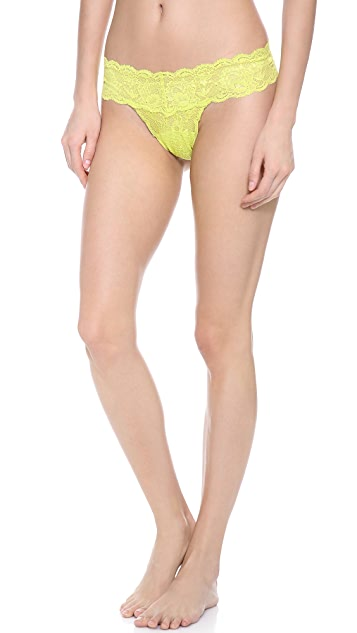Cosabella Never Say Never 3 Pack Cutie Low Rise Thong