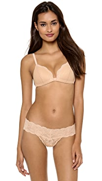 Cosabella Dolce Triangle Soft Push Up Bra