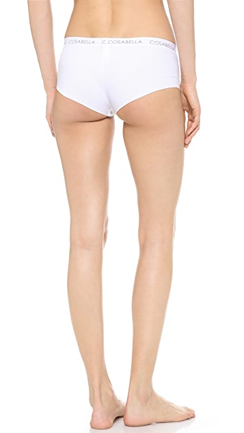 Cosabella Edge Cotton Low Rise Hotpants