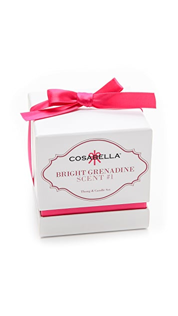 Cosabella Candle & Italia Thong Set