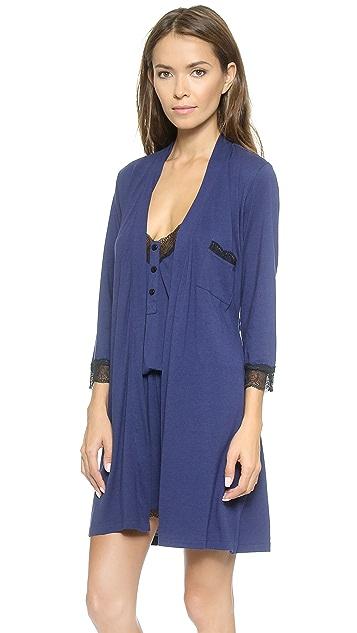 Cosabella Perugia 3/4 Sleeve Robe
