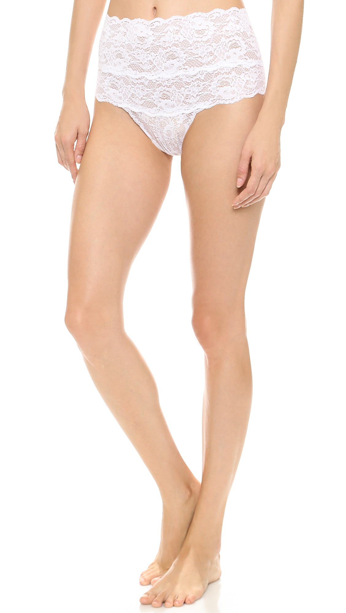 cosabella female 45883 cosabella never say never high rise thong white