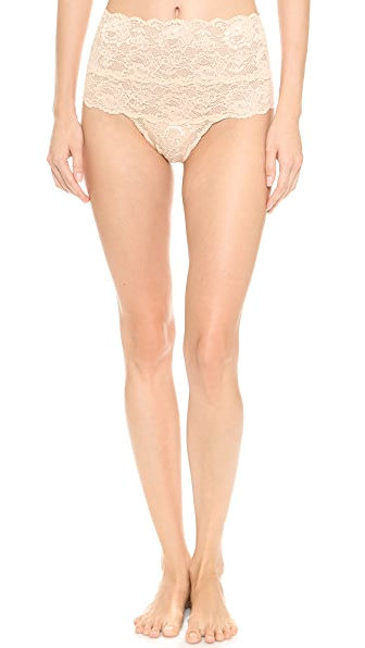 Cosabella Never Say Never High Rise Thong In Blush