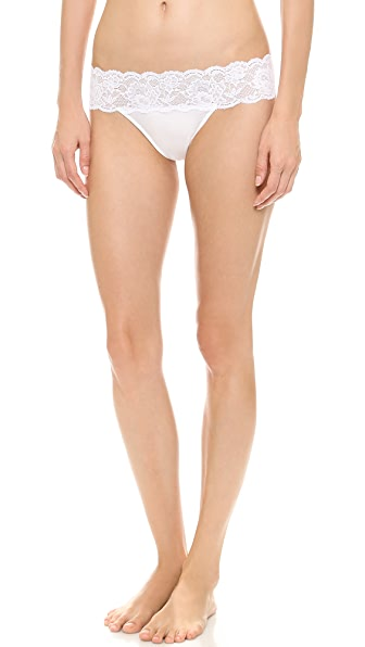 Cosabella Never Say Never Lovelie Thong - White