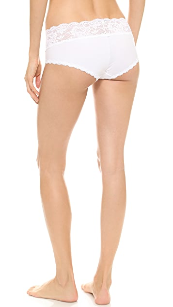 Cosabella Never Say Never Cheekie Low Rise Hot Pants