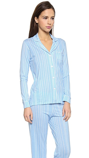 Cosabella Bella Caspian Sea Stripes PJs