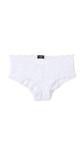 Cosabella Never Say Never Naughtie Low Rise Hotpants - White