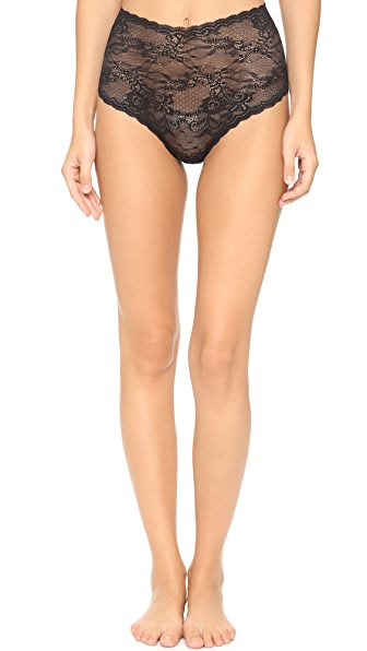 Cosabella Trenta High Rise Thong - Black