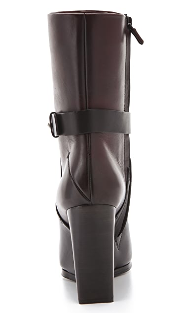 CoSTUME NATIONAL Rescue Wedge Boots