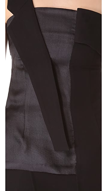 CoSTUME NATIONAL Asymmetrical Shoulder Top