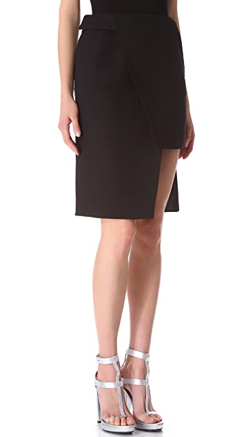 CoSTUME NATIONAL Waist Buckle Skirt