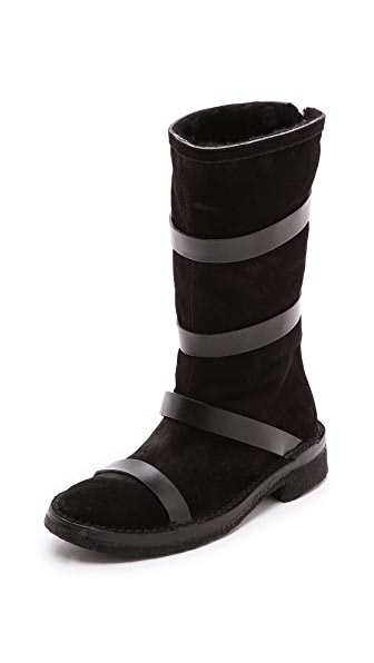 CoSTUME NATIONAL Boots with Straps