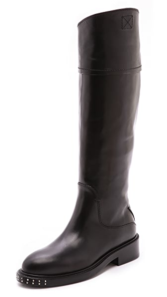 CoSTUME NATIONAL Leather Boots