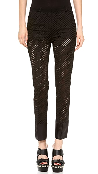 CoSTUME NATIONAL Cropped Trousers