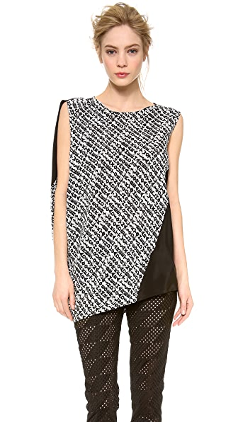 CoSTUME NATIONAL Asymmetric Oversized Top