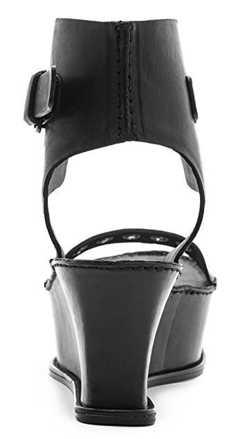 CoSTUME NATIONAL Wedge Sandals