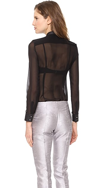 CoSTUME NATIONAL Long Sleeve Top