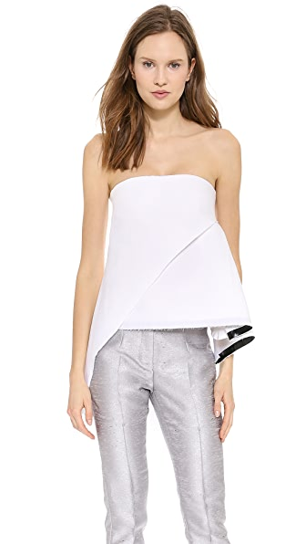 CoSTUME NATIONAL Strapless Top